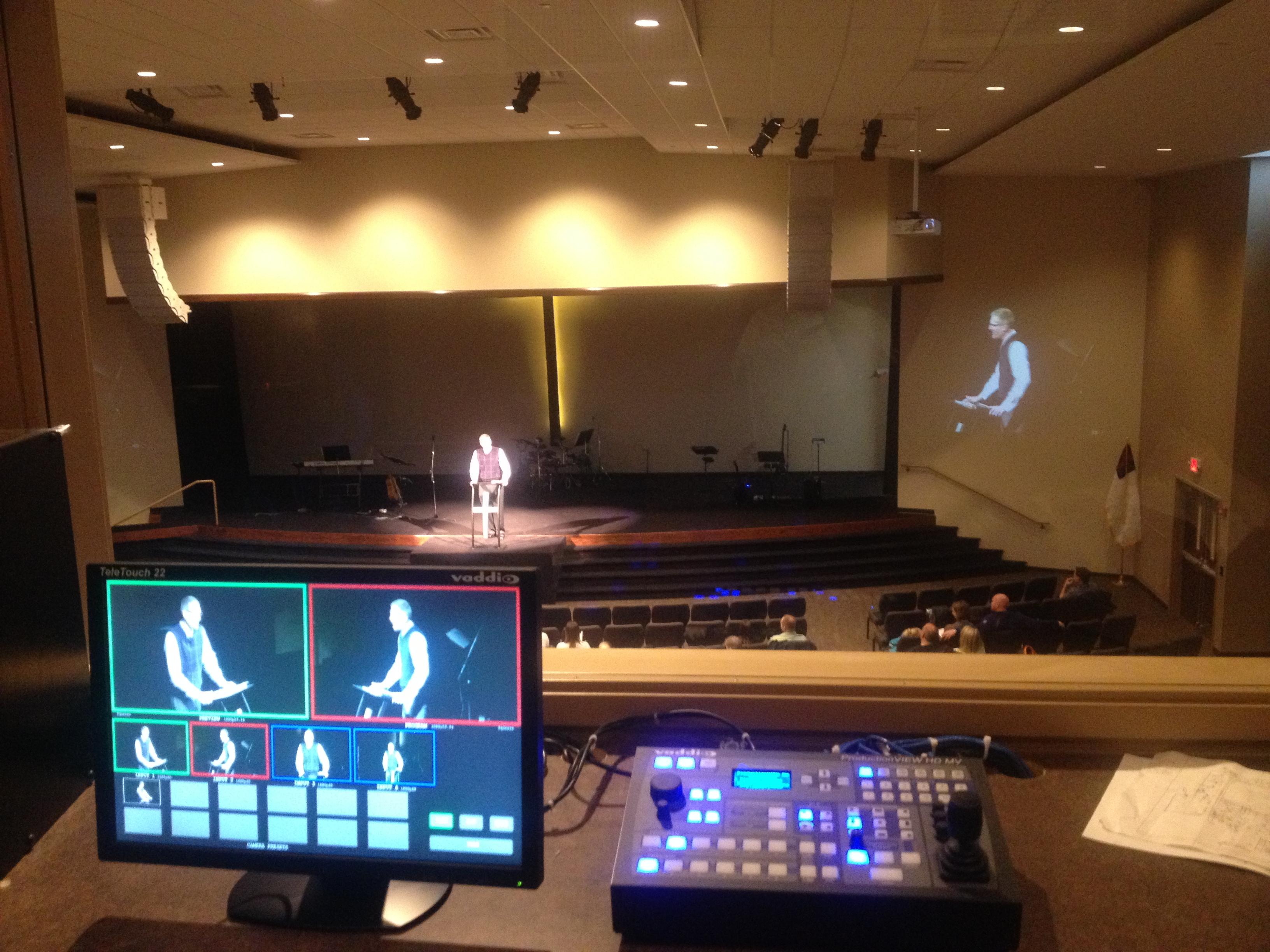 Blue Grass Church Install Concept Sound Amp Light
